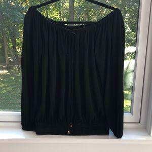 Michael Kors off the shoulder blouse